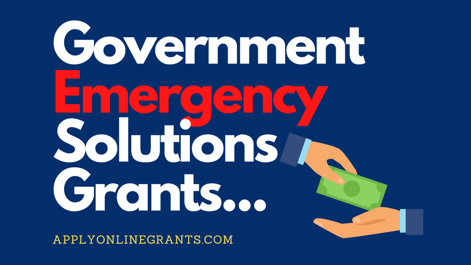 Government Emergency Solutions GrantsPicture